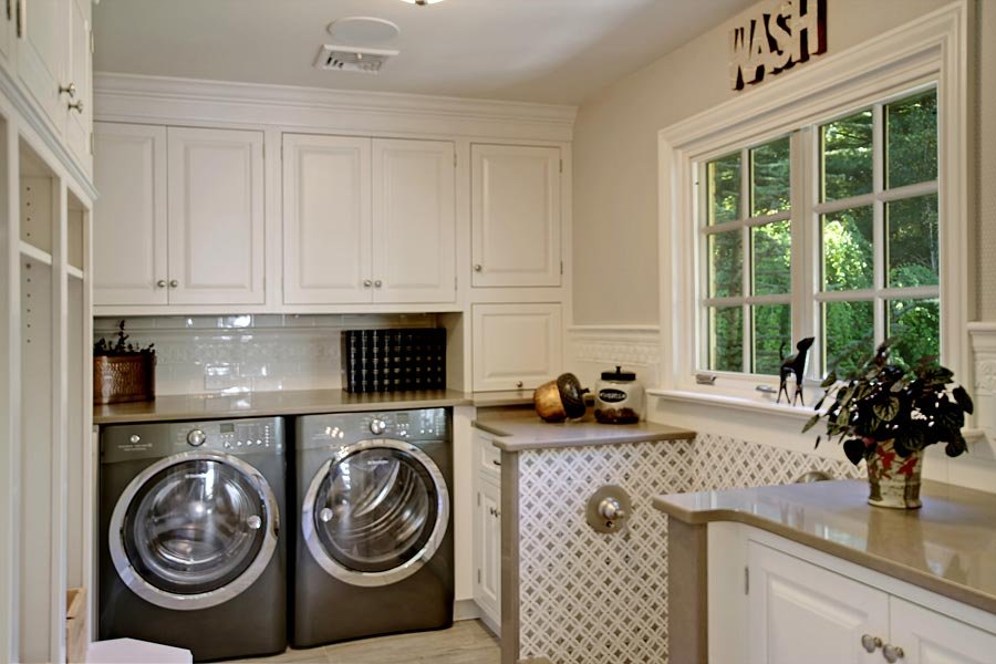 Kitchen and Mudroom-Laundry Additions