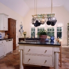 Rustic Kitchen with Distressed Cabinets