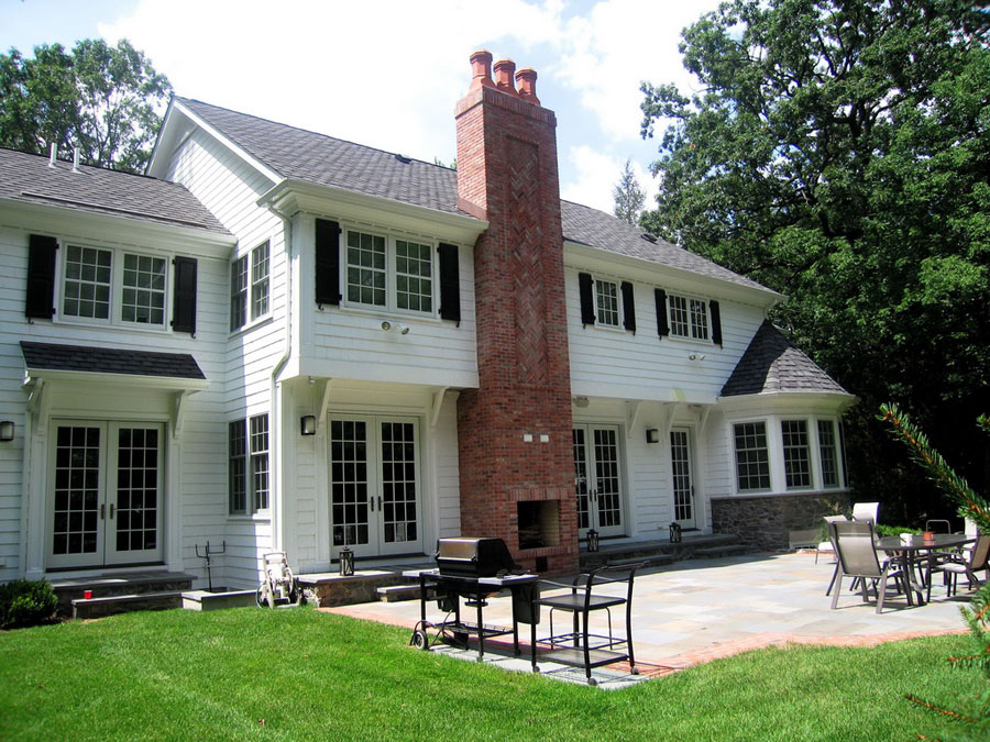 Classic Colonial with Stone Details